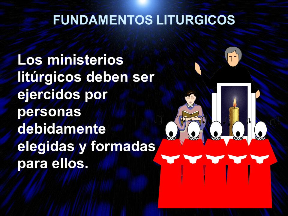 FUNDAMENTOS LITURGICOS