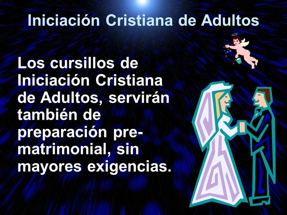 Iniciación Cristiana de Adultos