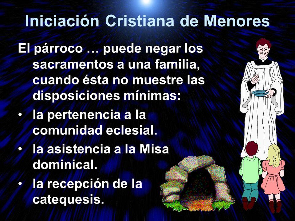 Iniciación Cristiana de Menores