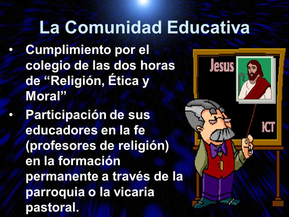 La Comunidad Educativa
