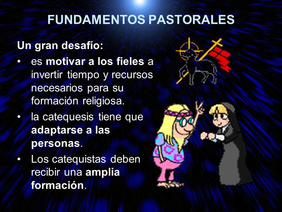 FUNDAMENTOS PASTORALES