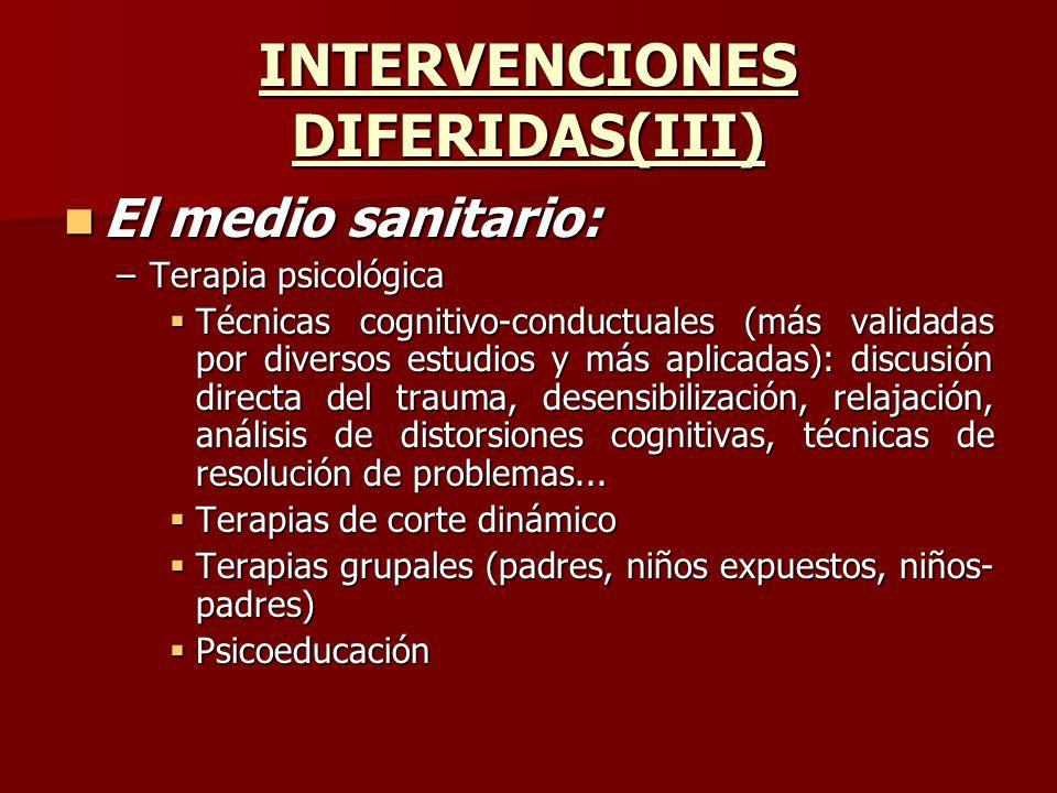 INTERVENCIONES DIFERIDAS(III)