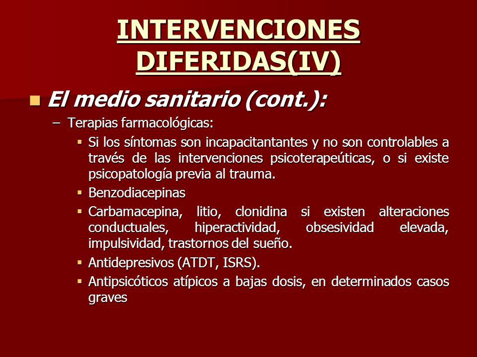 INTERVENCIONES DIFERIDAS(IV)