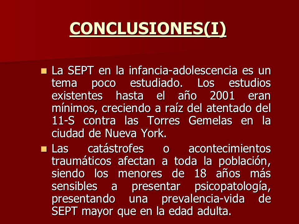 CONCLUSIONES(I)
