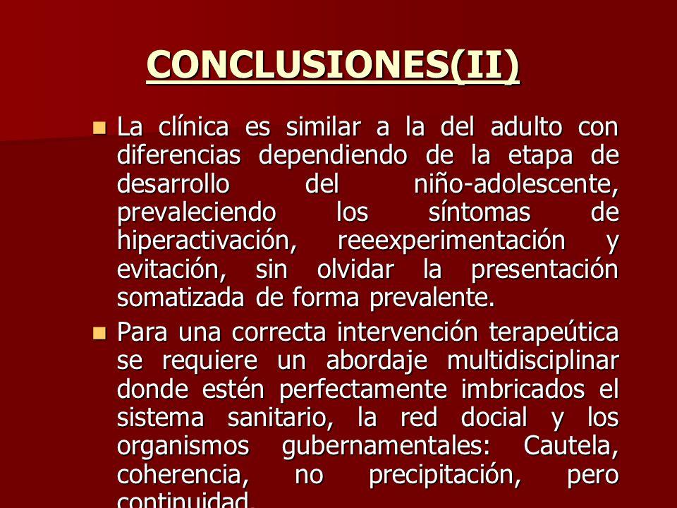 CONCLUSIONES(II)