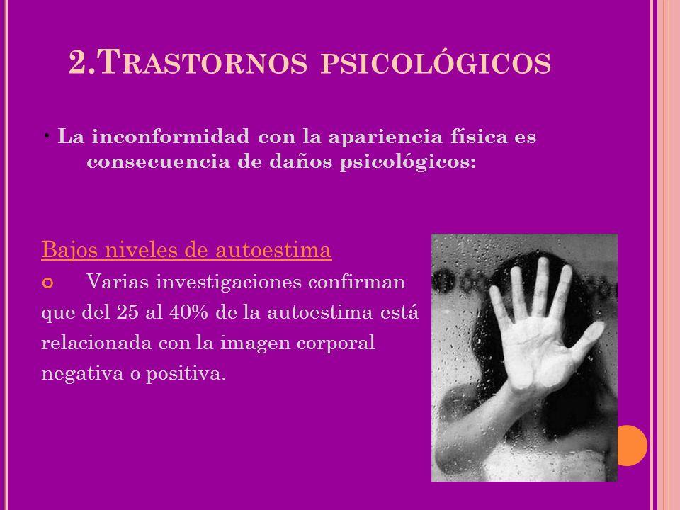 2.Trastornos psicológicos