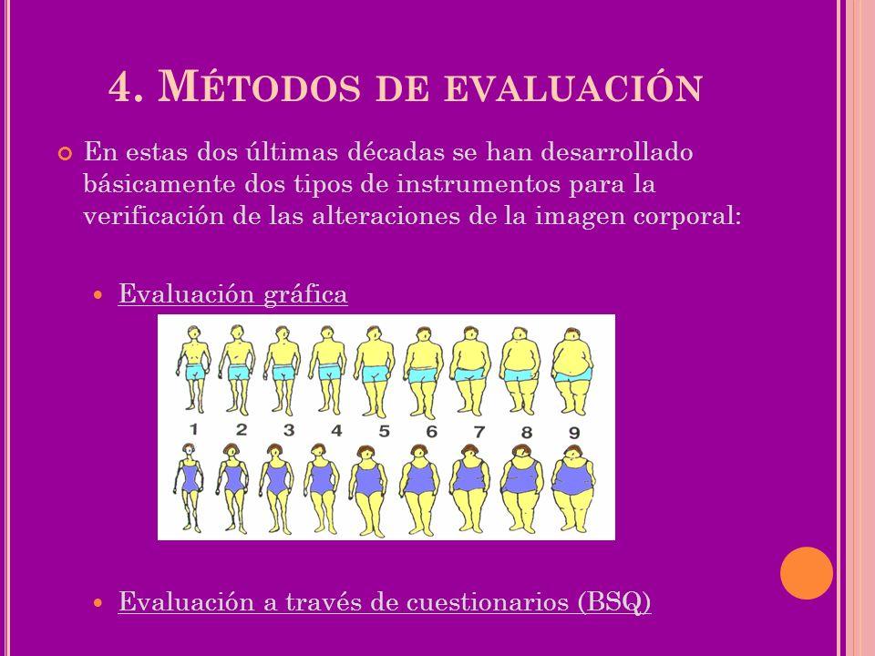 4. Métodos de evaluación