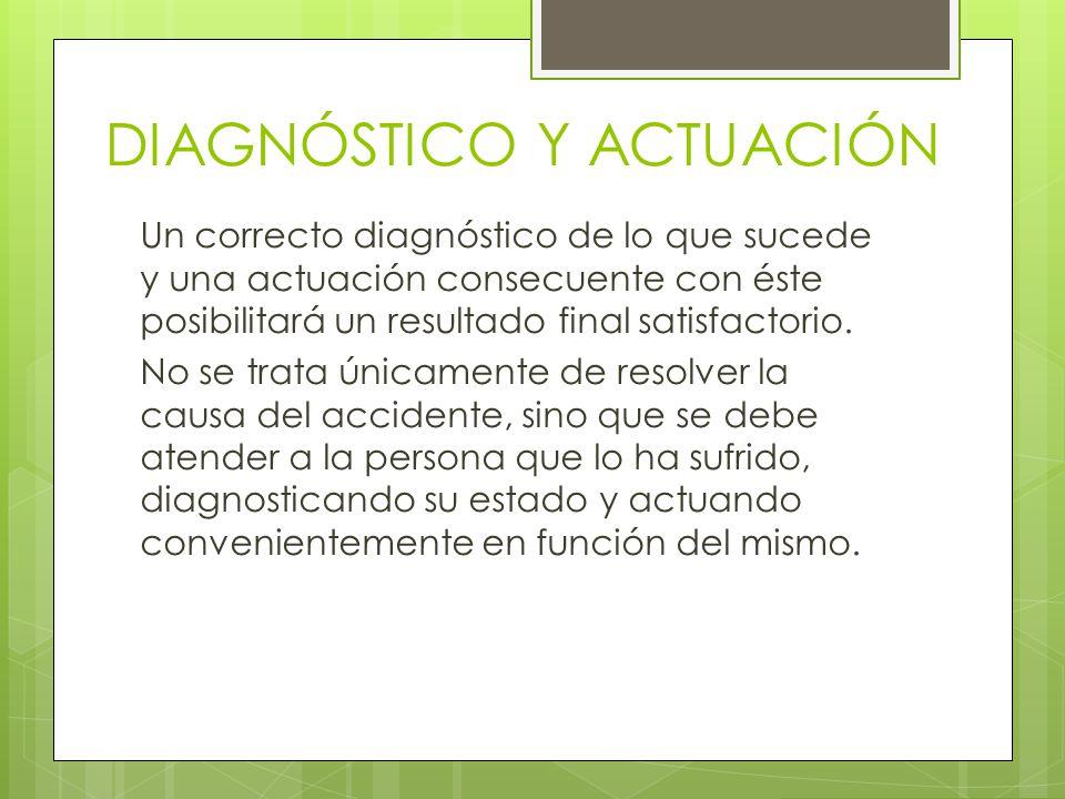 DIAGNÓSTICO Y ACTUACIÓN