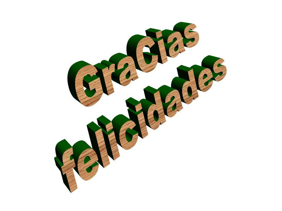 GraCias felicidades