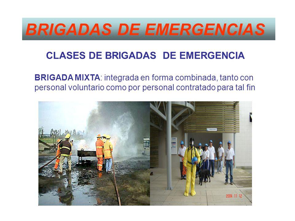 BRIGADAS DE EMERGENCIAS