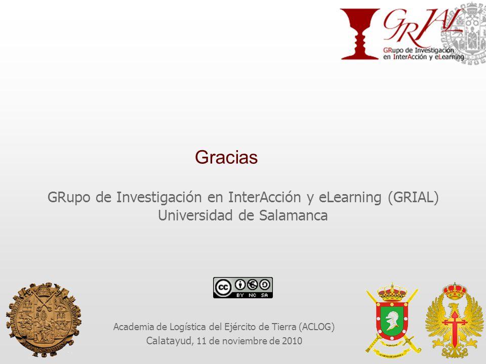 Gracias GRupo de Investigación en InterAcción y eLearning (GRIAL)