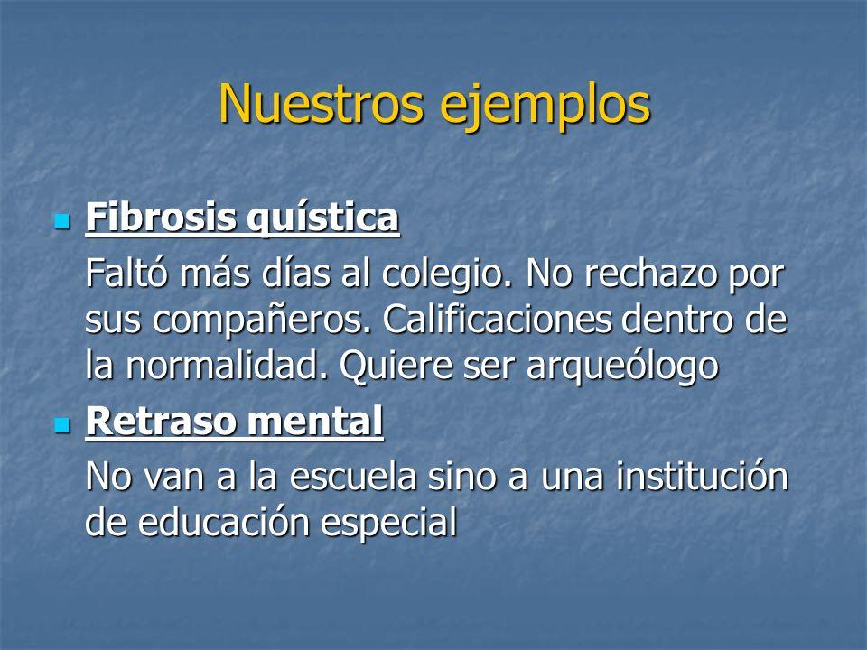Nuestros ejemplos Fibrosis quística