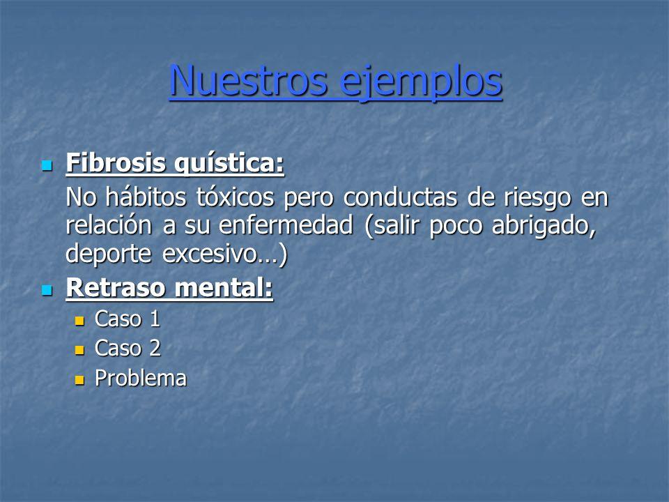 Nuestros ejemplos Fibrosis quística: