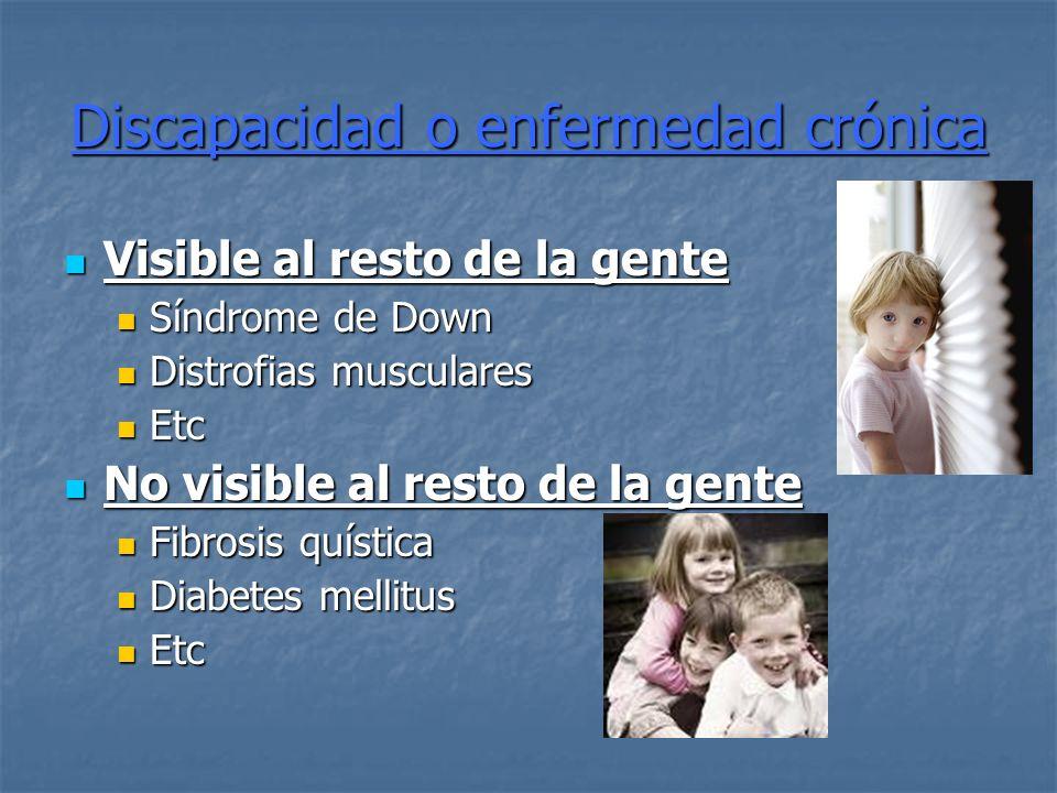 Discapacidad o enfermedad crónica