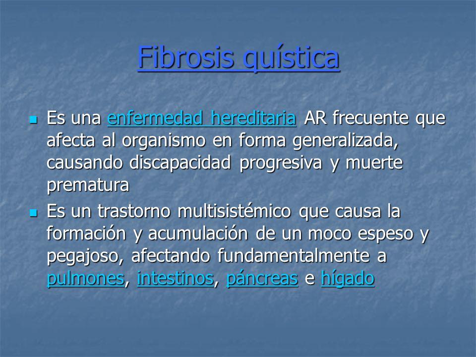 Fibrosis quística