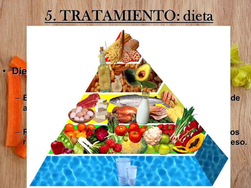 5. TRATAMIENTO: dieta Dieta