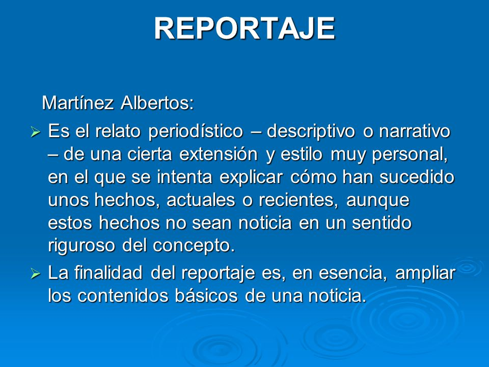 REPORTAJE Martínez Albertos: