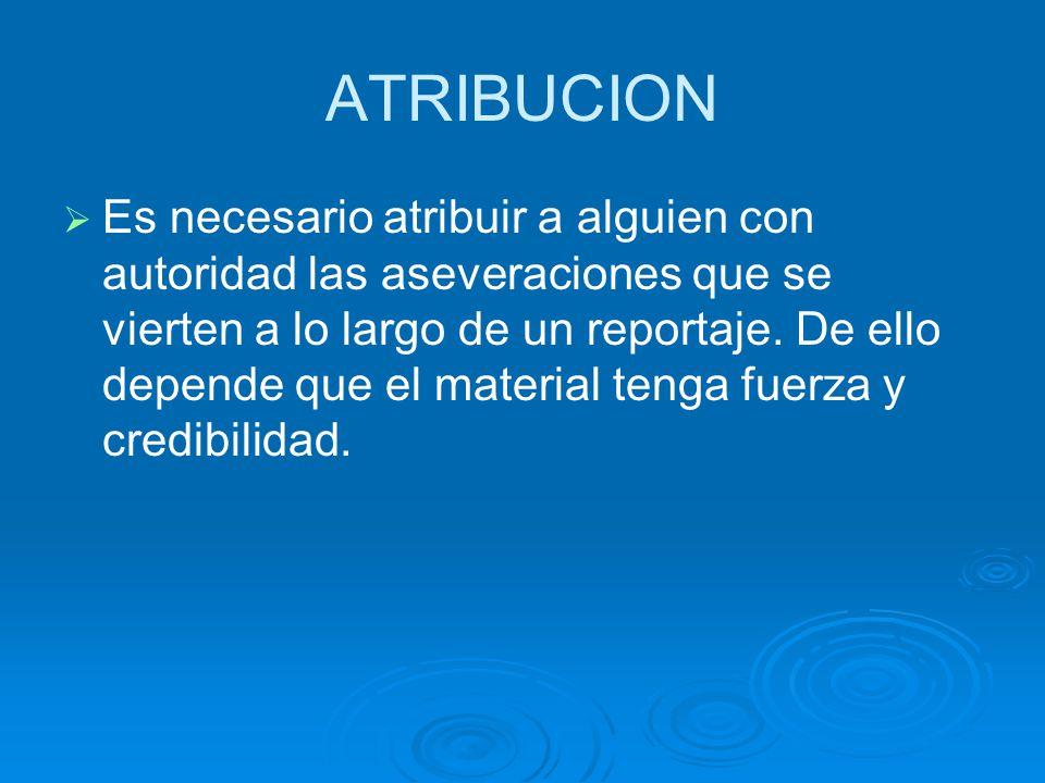 ATRIBUCION