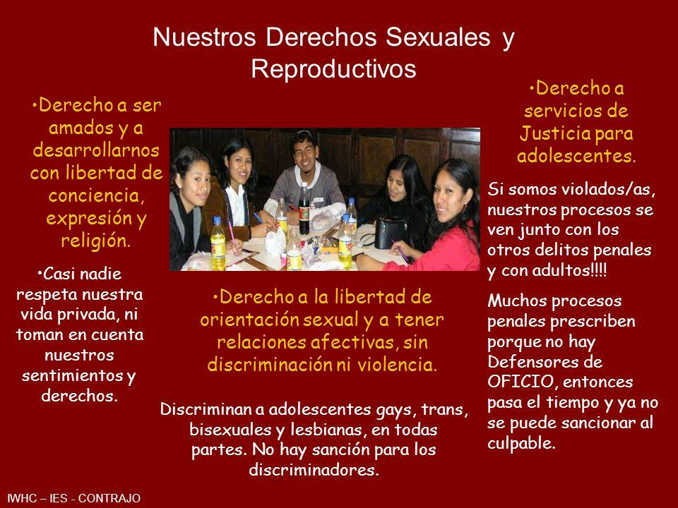 Nuestros Derechos Sexuales y Reproductivos