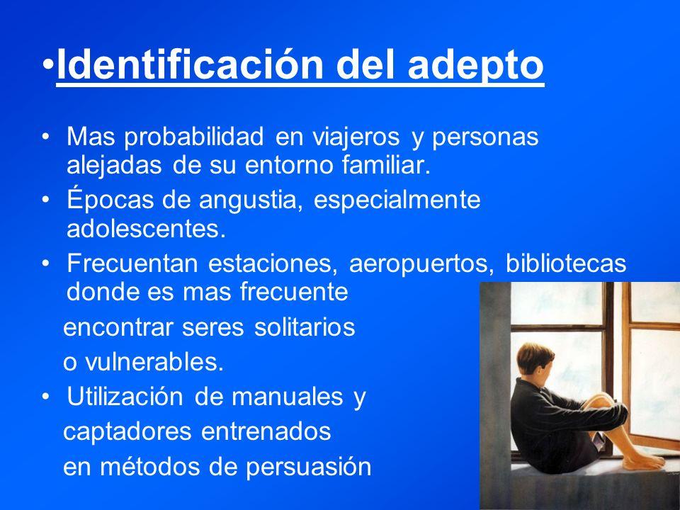 Identificación del adepto