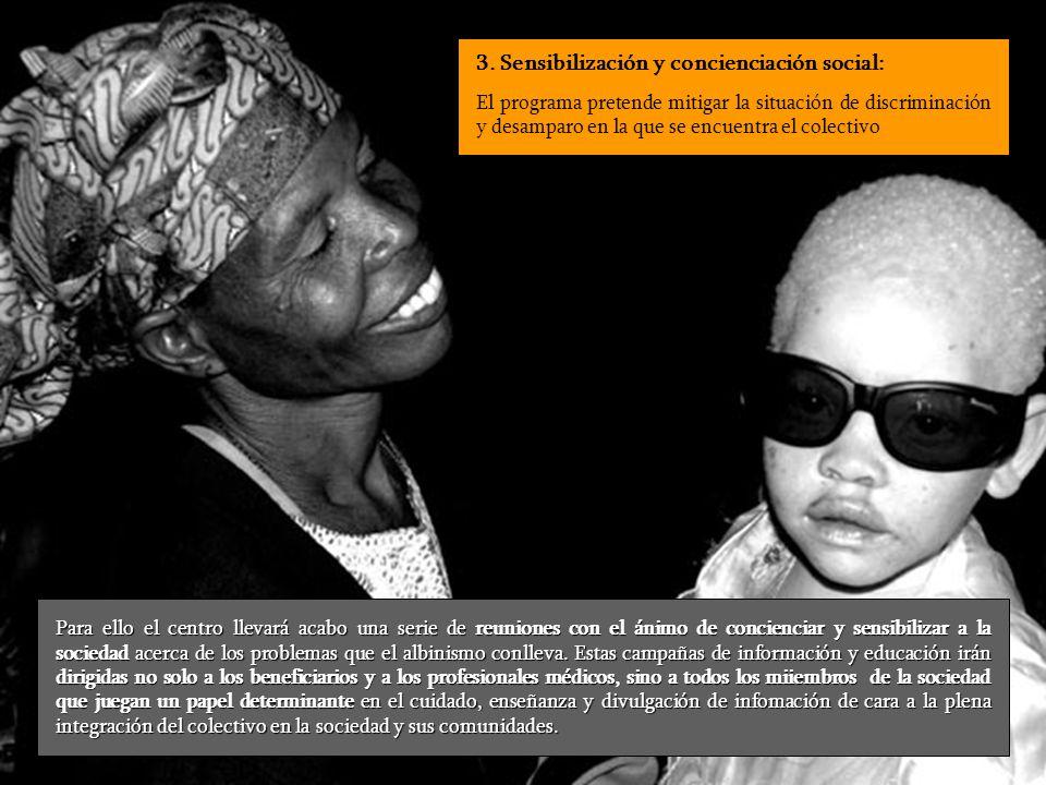 3. Sensibilización y concienciación social: