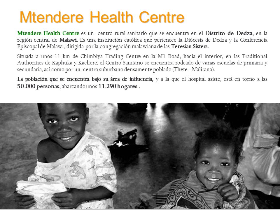 Mtendere Health Centre