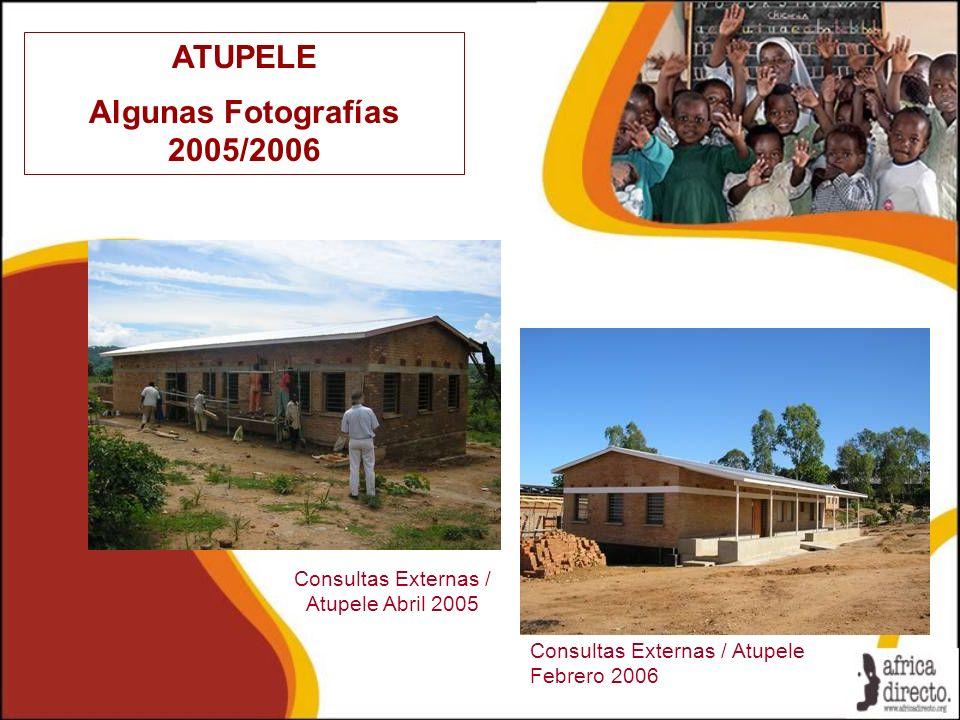 Consultas Externas / Atupele Abril 2005