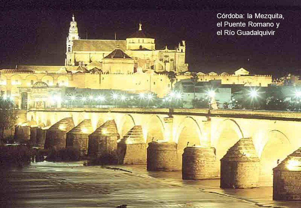 Córdoba: la Mezquita, el Puente Romano y el Río Guadalquivir