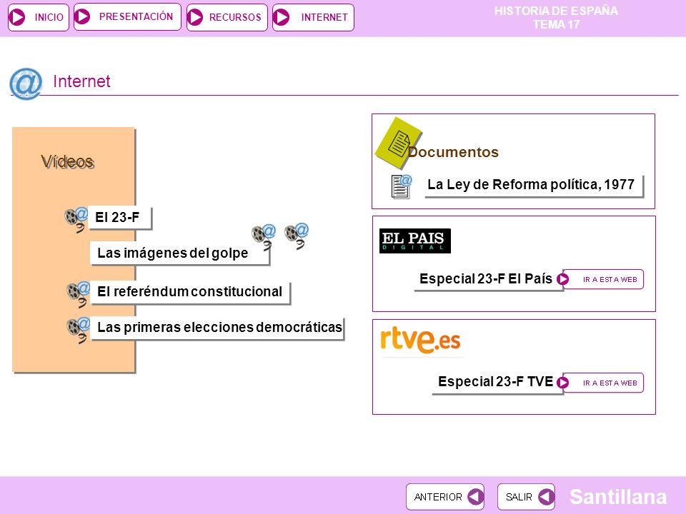 2 2 Internet Vídeos Documentos La Ley de Reforma política, 1977