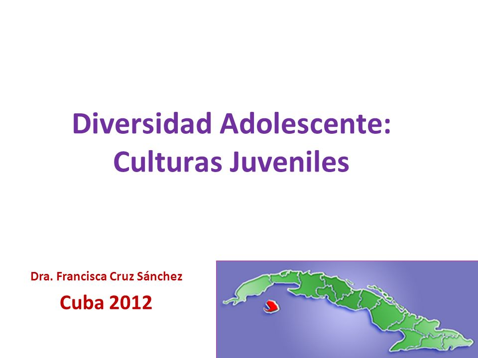 Diversidad Adolescente: Culturas Juveniles