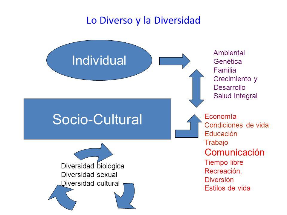 Lo Diverso y la Diversidad