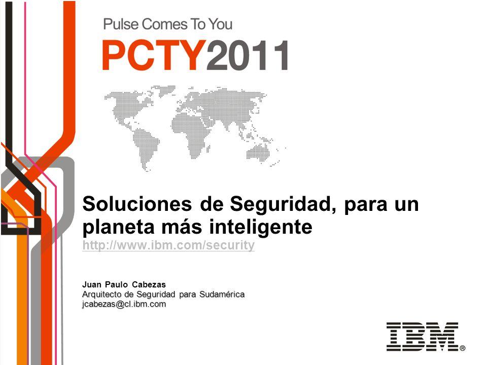 Soluciones de Seguridad, para un planeta más inteligente http://www