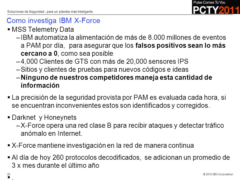 Como investiga IBM X-Force