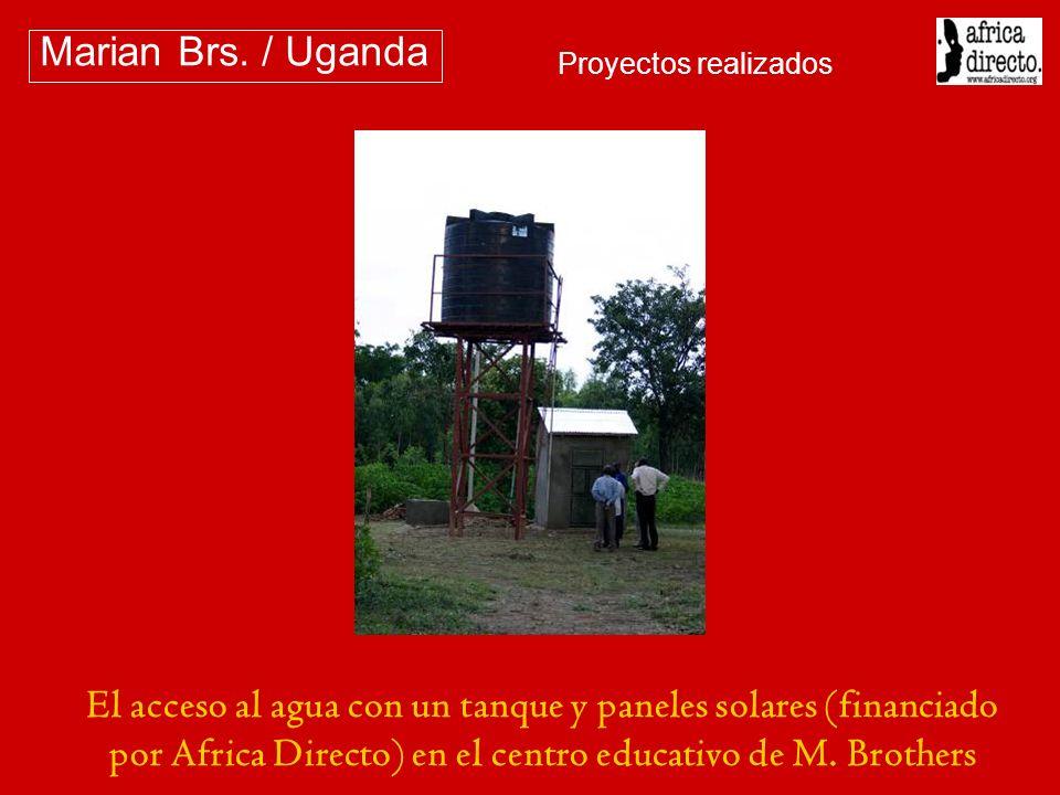 Marian Brs. / Uganda Proyectos realizados.