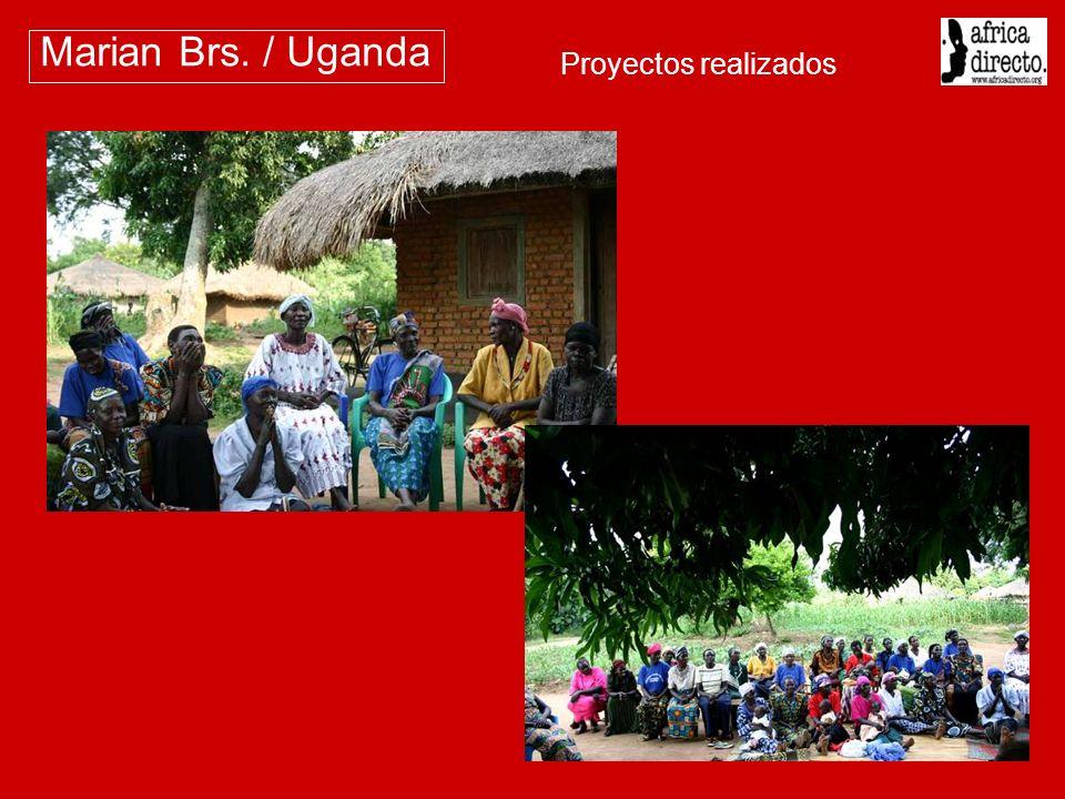 Marian Brs. / Uganda Proyectos realizados