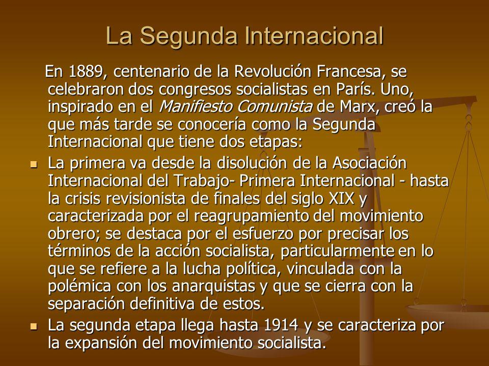 La Segunda Internacional