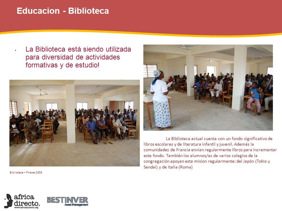Educacion - Biblioteca