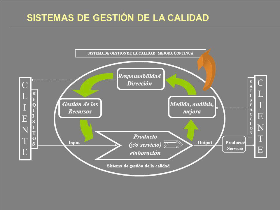 SISTEMAS DE GESTIÓN DE LA CALIDAD