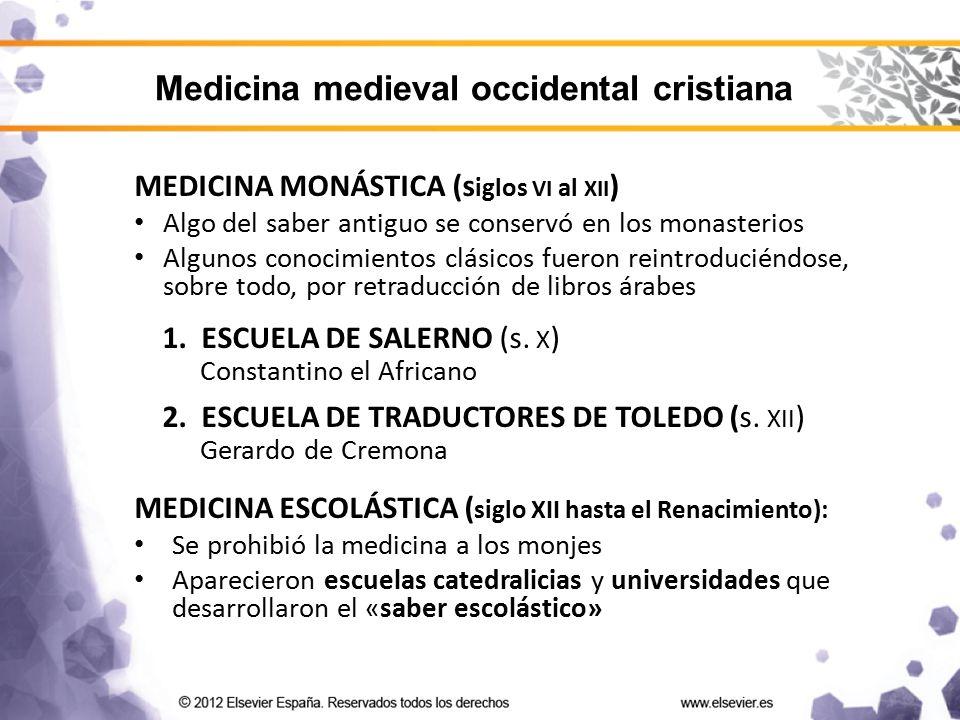 Medicina medieval occidental cristiana
