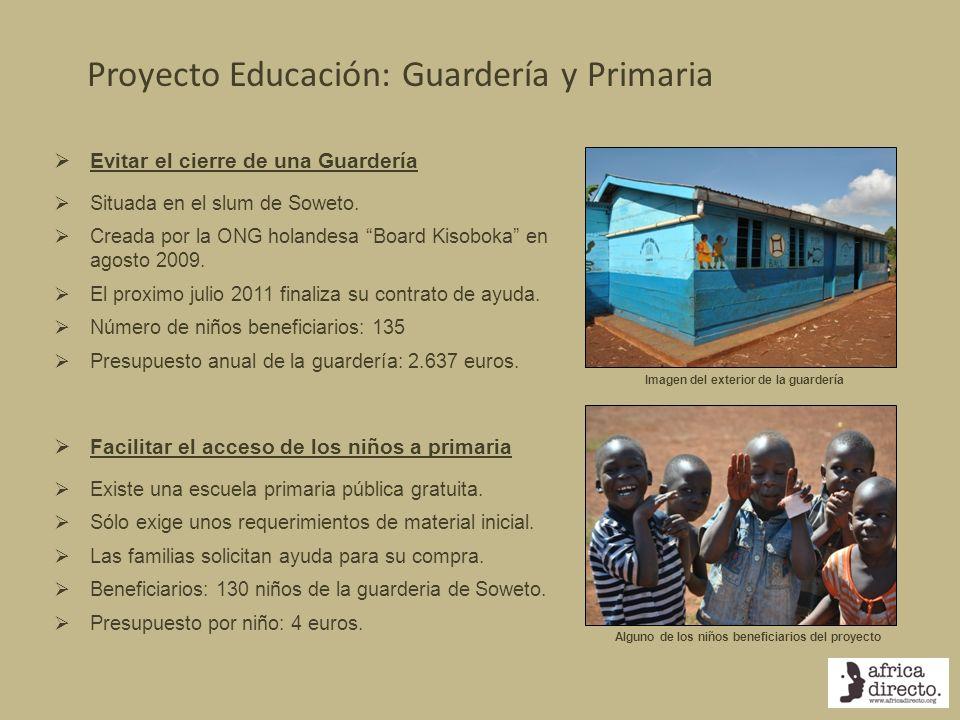 Proyecto Educación: Guardería y Primaria