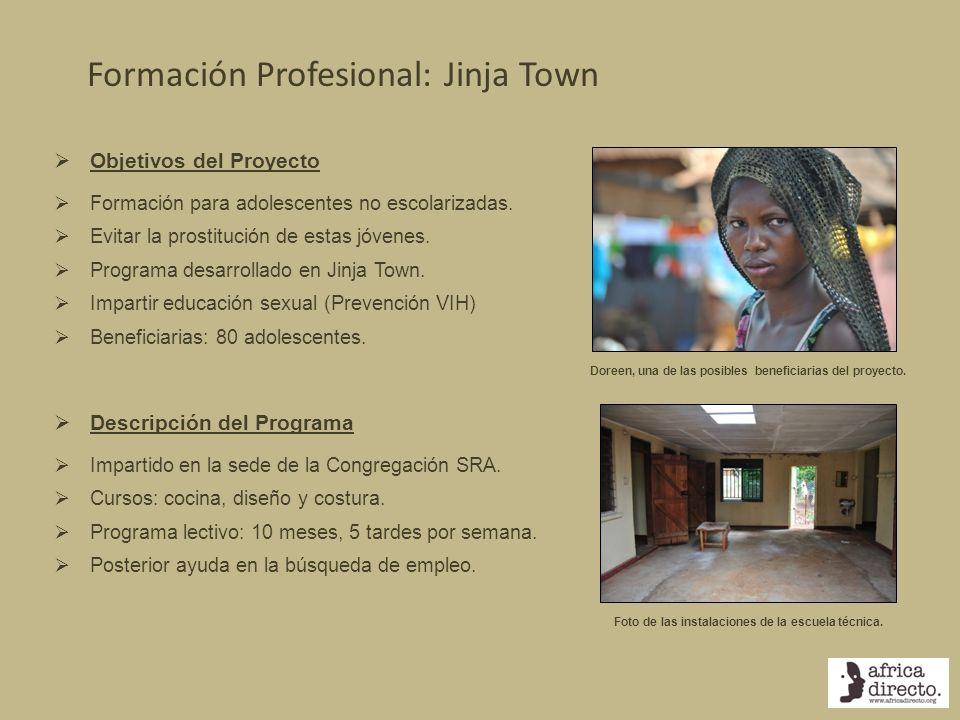 Formación Profesional: Jinja Town