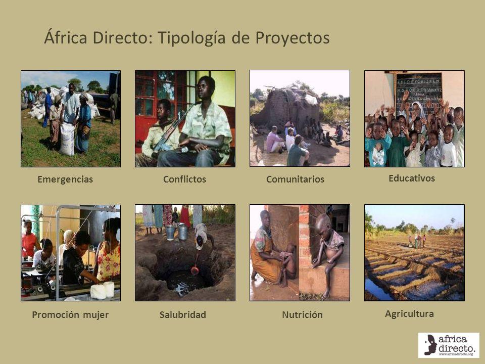 África Directo: Tipología de Proyectos