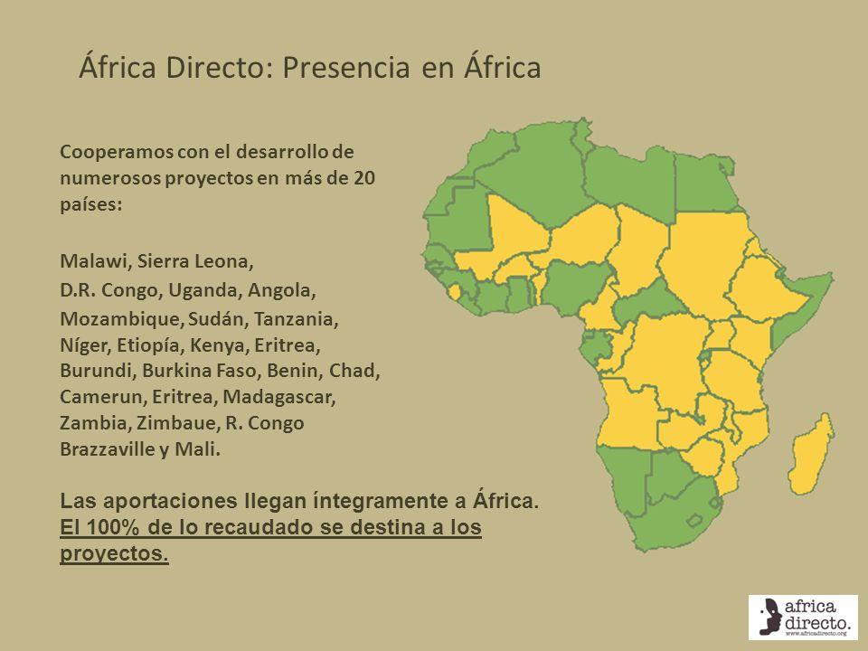África Directo: Presencia en África