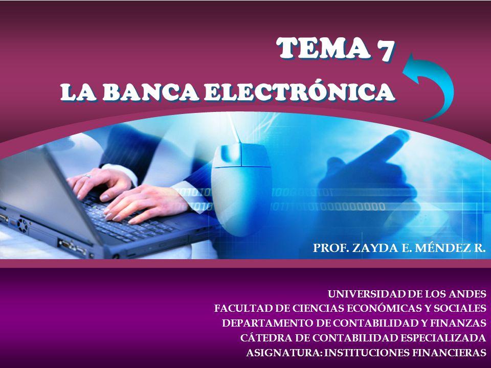TEMA 7 LA BANCA ELECTRÓNICA