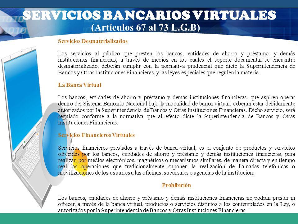 SERVICIOS BANCARIOS VIRTUALES
