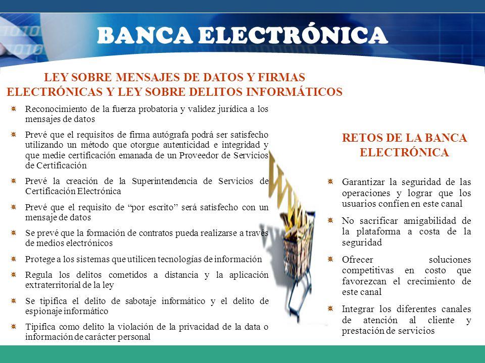 RETOS DE LA BANCA ELECTRÓNICA