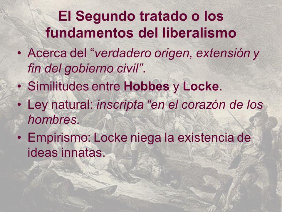 El Segundo tratado o los fundamentos del liberalismo