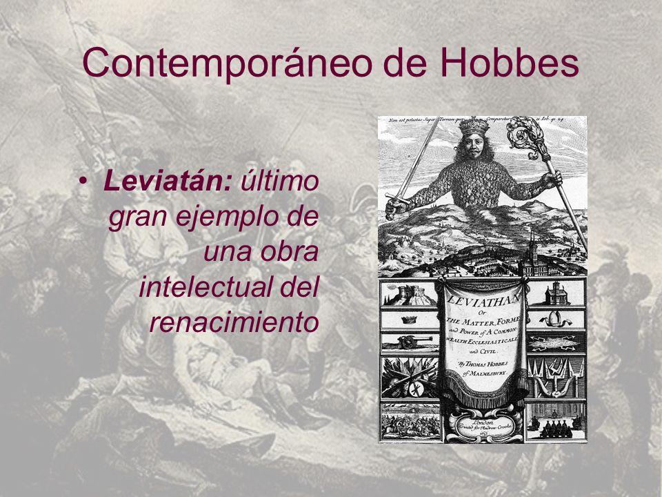 Contemporáneo de Hobbes