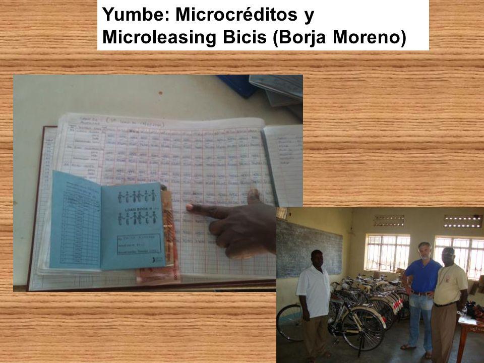 Yumbe: Microcréditos y Microleasing Bicis (Borja Moreno)