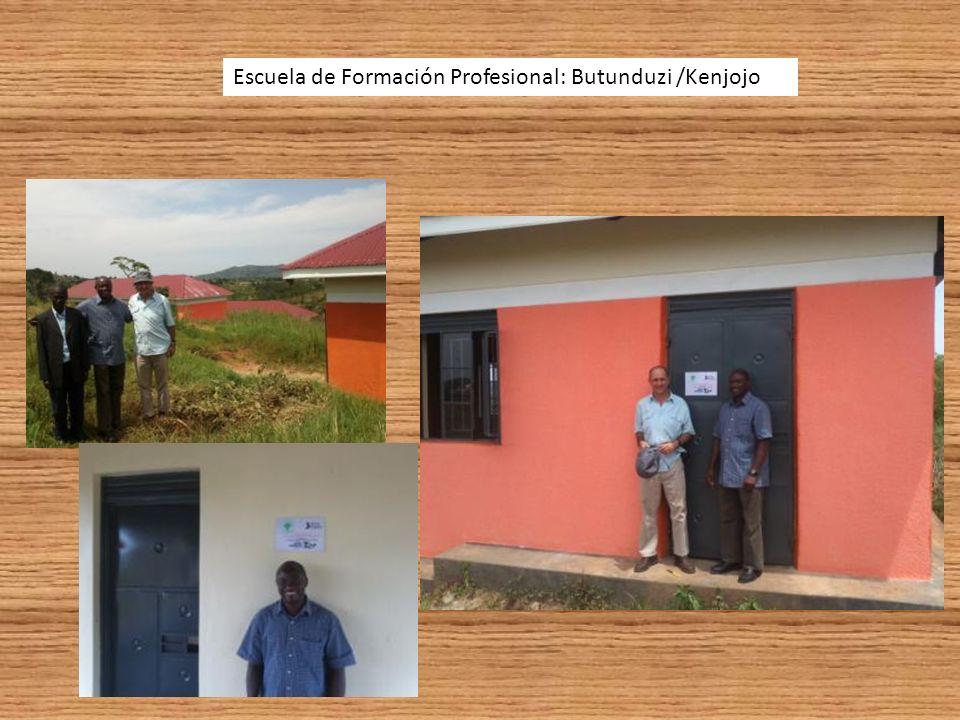 Escuela de Formación Profesional: Butunduzi /Kenjojo
